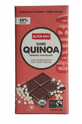 ALTER ECO Choc Dark Quinoa 80g