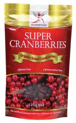 DR SUPERFOODS Cranberries 125g