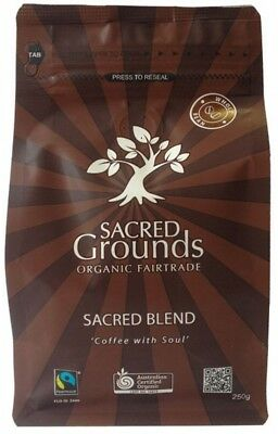SACRED GROUNDS Blend Whole Bean 250g
