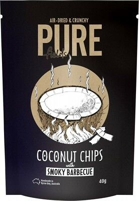 PURE FIELDS Coconut Chips Barbeque 40g
