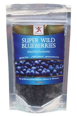 DR SUPERFOODS Super Wild Blueberries 125