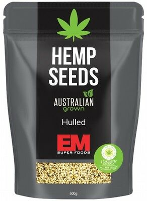 EM SUPER FOODS Aust Hemp Seeds 500g