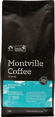 MONTVILLE COFFEE Woodford Plunger 1kg