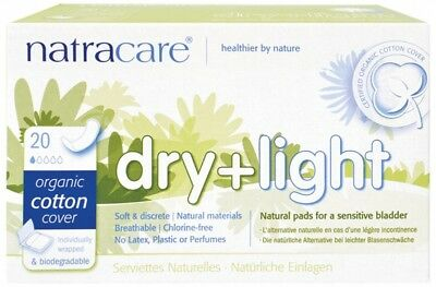 NATRACARE Incontinence Pads 20