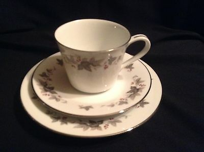 Noritake Vale 766 Vale Trio Cup Saucer and Cake Plate