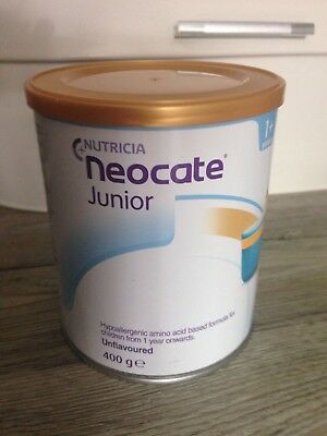 Neocate Junior, Unflavored, 400 g
