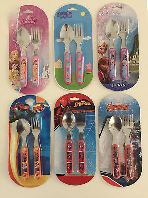 Kids Character Cutlery Set