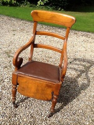 Edwardian Commode Chair