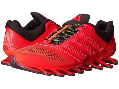 adidas Springblade Drive 2 Mens Solar Red Running Sports Shoes Trainers Athletic