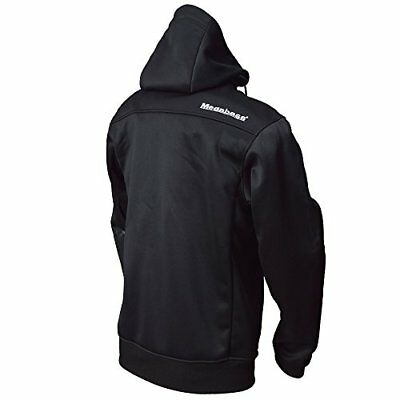 Megabass HYBRID HOODY BLACK Oni hands and buddies M 34017 F/S from JAPAN