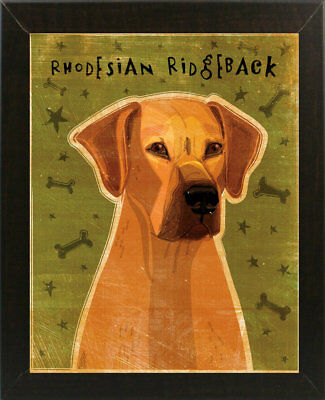 East Urban Home 'Rhodesian Ridgeback' Graphic Art Print