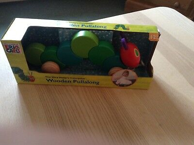 The Very Hungry Caterpillar Pull-along Toy . Brand new in box .