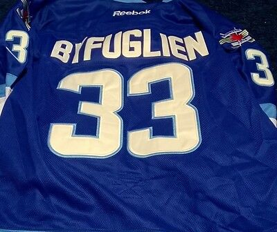 Slighty USED Byfuglien #33  Winnipeg Jets Home Blue PremierJersey