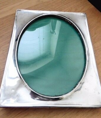 Antique Large HALLMARKED Silver Photo Frame
