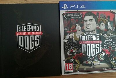 Sleeping Dogs Ps4 Definitive Edition