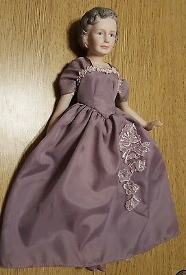 """Vintage 15"""" BESS TRUMAN FIRST LADY COLLECTION Doll wb True Period Dress"""