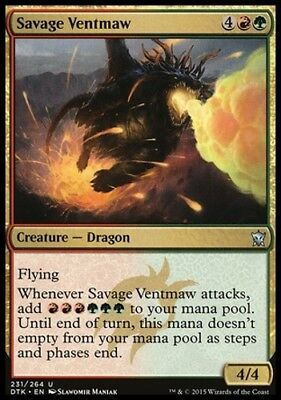 MTG Savage Ventmaw [English, Dragons of Tarkir, Free P&P]