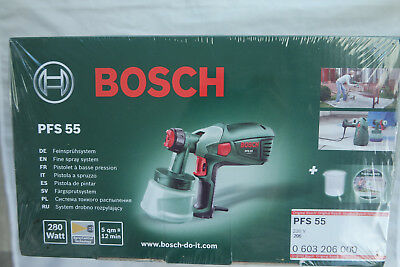 bosch diy farbspr hsystem pfs 5000 e 1200w mit komplettem zubeh r picclick de. Black Bedroom Furniture Sets. Home Design Ideas