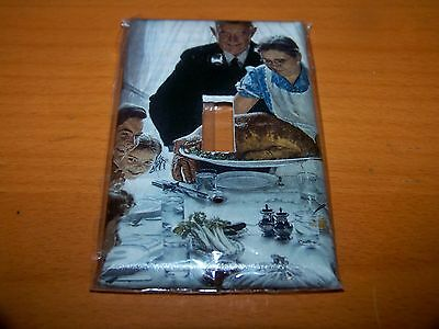 Norman Rockwell Thanksgiving Saturday Evening Post Light Switch Plate
