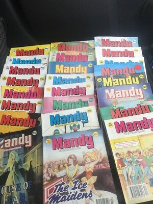 JOBLOT. MANDY x  35 Picture STORY LIBRARY BOOKS