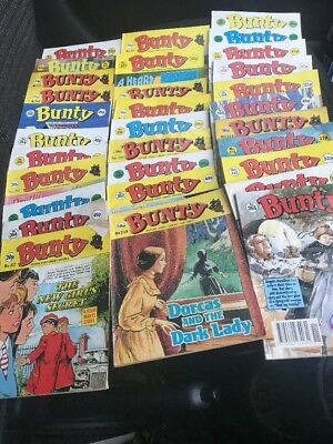 31 x BUNTY PICTURE STORY LIBRARY COMICS - Various Ages