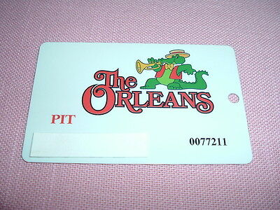 The ORLEANS Casino PIT Players Club Card Las Vegas, NV Rare for table games
