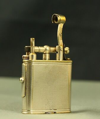 Vintage Deco 30's Silver Dunhill Unique Pipe lighter Spares / Repair Briquet 打火機