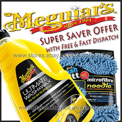 MEGUIARS voiture Ultimate LAVE & cire shampoing + KENT