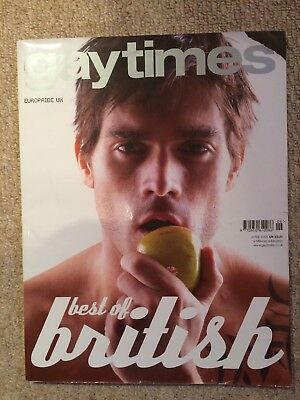 Gay Times Magazine GT 333 JUN 2006 BEST OF BRITISH QUEENS & COUNTRY EUROPRIDE