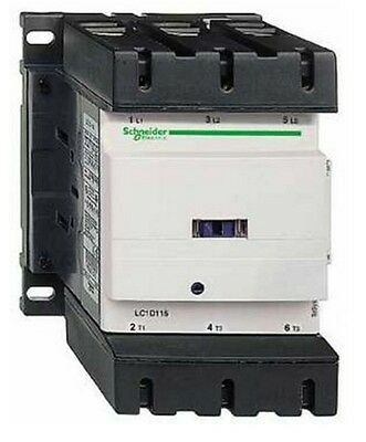 Schneider Electric TeSys LC1 3 Pole Contactor 115 A 120 V AC - LC1D1156G6
