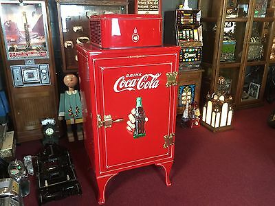 "1930's General Electric Monitor-Top Cola Refrigerator  ""WATCH VIDEO"""