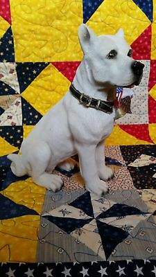 American Pit Bull / Staffordshire Terrier Figure approx 11 inches