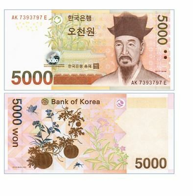 Korea South 5000 / 5.000  Won 2006 P 55 Unc