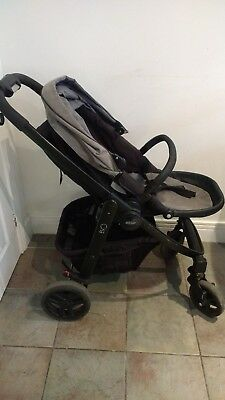 Graco evo pushchair stroller buggy with raincover