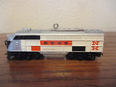 Hallmark Lionel New Haven Diesel Locomotive Train Ornament 2008