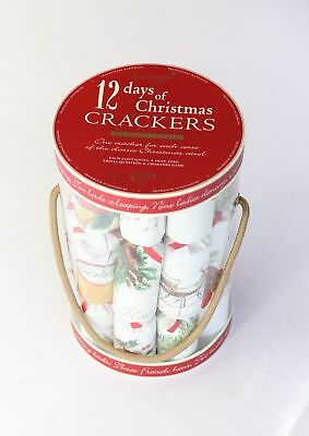 Robin Reed H7 12pc 12 Days of Christmas Party Crackers Christmas Carols 51712