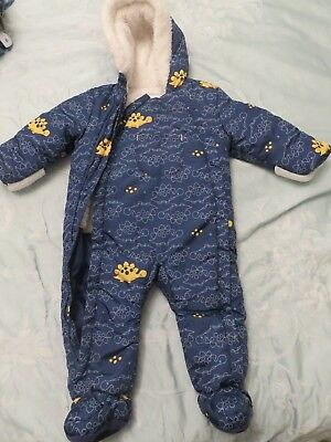 9-12 Months Boots Mini Club Ultra Soft Baby Snowsuit!
