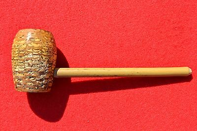 """Rare Antique Vintage Late 1800s H&B Old Glory Corn Cob Pipe with Reed Stem 6"""""""