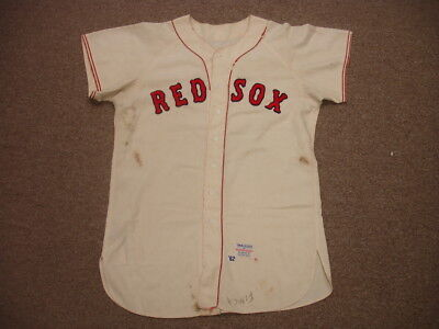 1962 Russ Nixon Boston Red Sox Game Used Home Jersey
