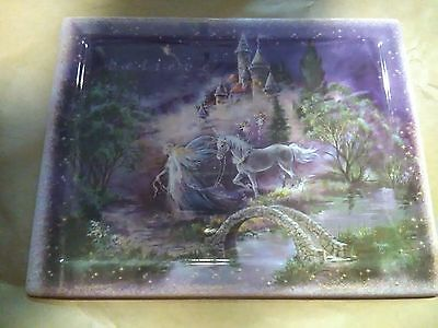 bradford exchange collectable fantasy plate follow your dream dream castles