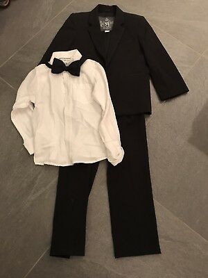 Boys Monsoon Tuxedo Suit Age 5-6 Yrs