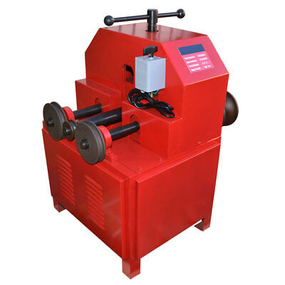 110 Volt Square Round Pipe Bender Multi-Function Wall Thickness 0.5 - 2 mm