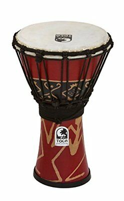 Toca TO803175 - Djembe Freestyle 7, color rojo Bali