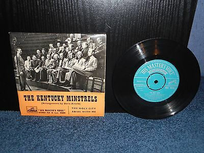 "7"" 45rpm EP The Kentucky Minstrels - The Holy City / Abide With Me"