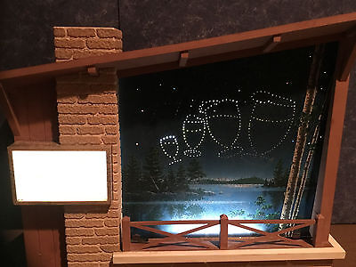 Hamm's Beer Sign Vintage 1960 Starry Skies Still Works Motion Lights Up Rare