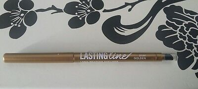 bare Minerals Escentuals LASTING LINE Long Wearing Eye Liner stay GOLDEN