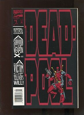 Deadpool: Circle Chase #1 (8.5) Newsstand Edition!