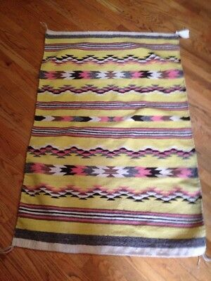 """Smith And Chandler Navajo Blanket NWT 10""""x3'"""