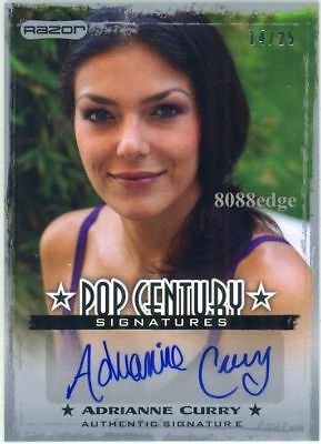 2010 Razor Pop Century Autograph Auto: Adrianne Curry #14/25 Playboy Cover