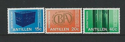 Netherlands Antilles - #407-#409 - Bank Set (1977) Mnh